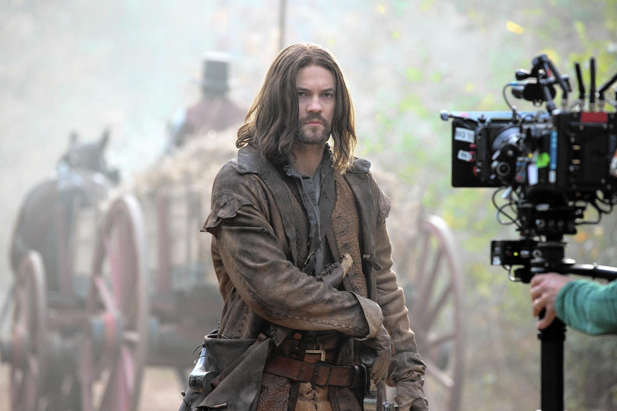 "Shane West plays John Alden in ""Salem,"" the new TV series from Tribune Co.'s WGN America set in the Massachusetts village that was the scene of notorious Colonial witch trials."