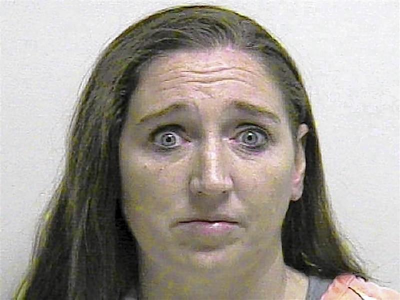 Booking photo of Megan Huntsman in Pleasant Grove, Utah