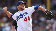 Chris Withrow is trying to stick with Dodgers