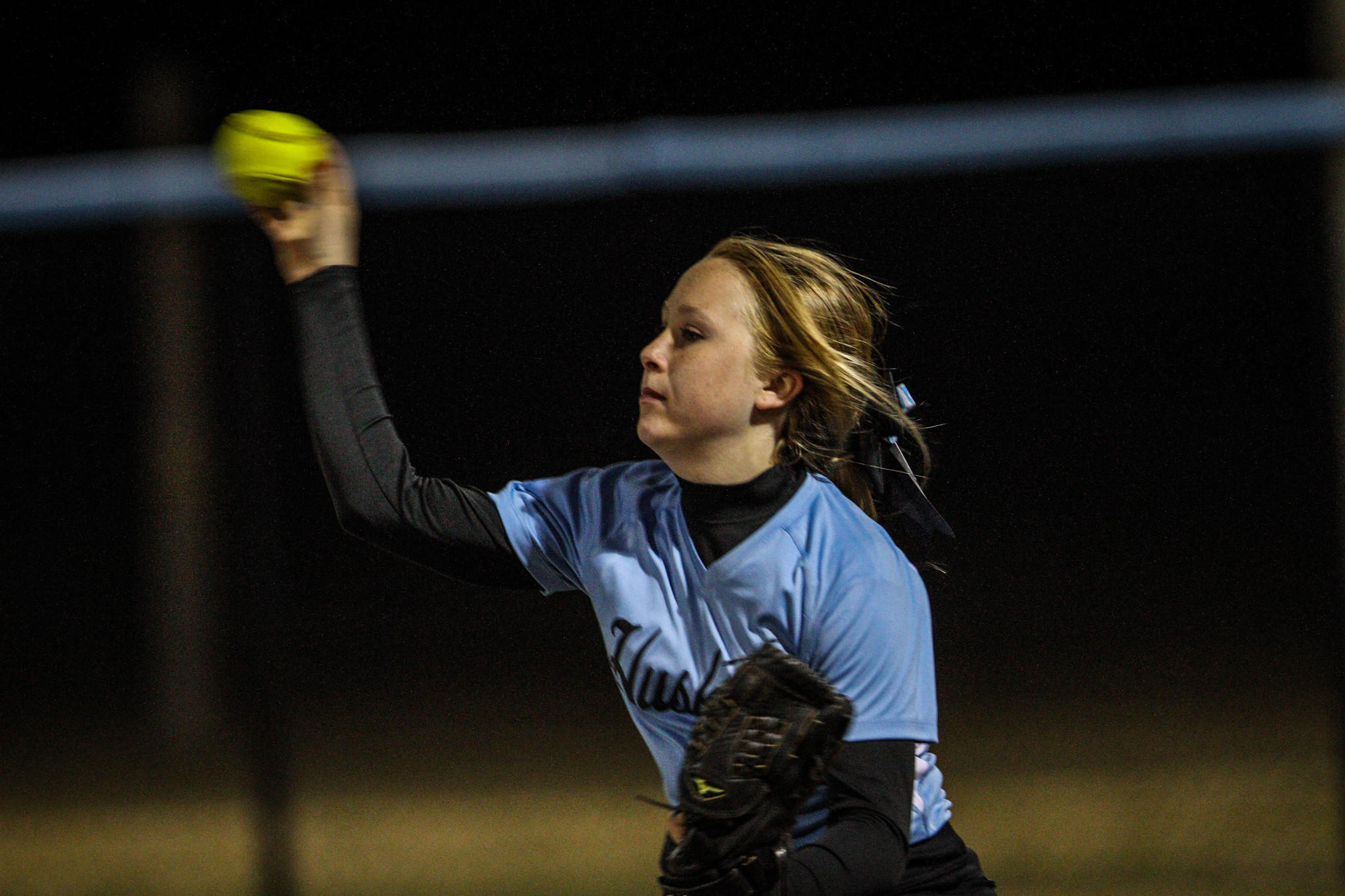 Samantha Worrell led Hagerty to a 16-3 victory over DeLand in Class 8A, District 2 play.
