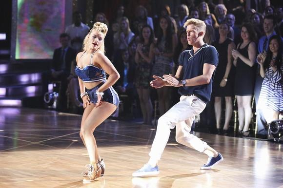 Witney Carson and Cody Simpson