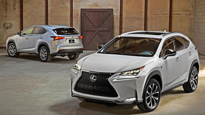 Lexus welcomes all-new NX compact crossover to the luxury family
