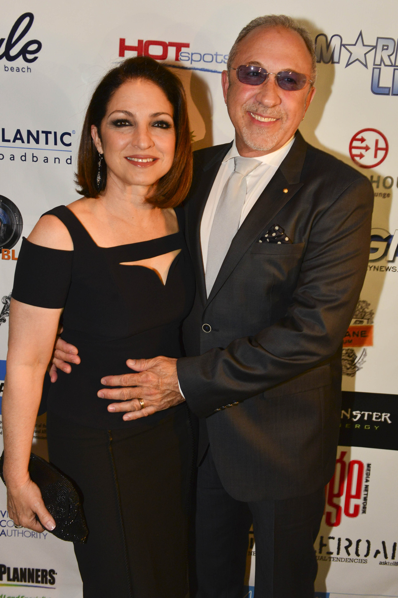 Celeb-spotting around South Florida - Gloria Estefan and Emilio Estefan