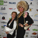 "Bravo's ""Real Housewives of Miami"" star Lea Black and drag diva Miss Elaine Lancaster"