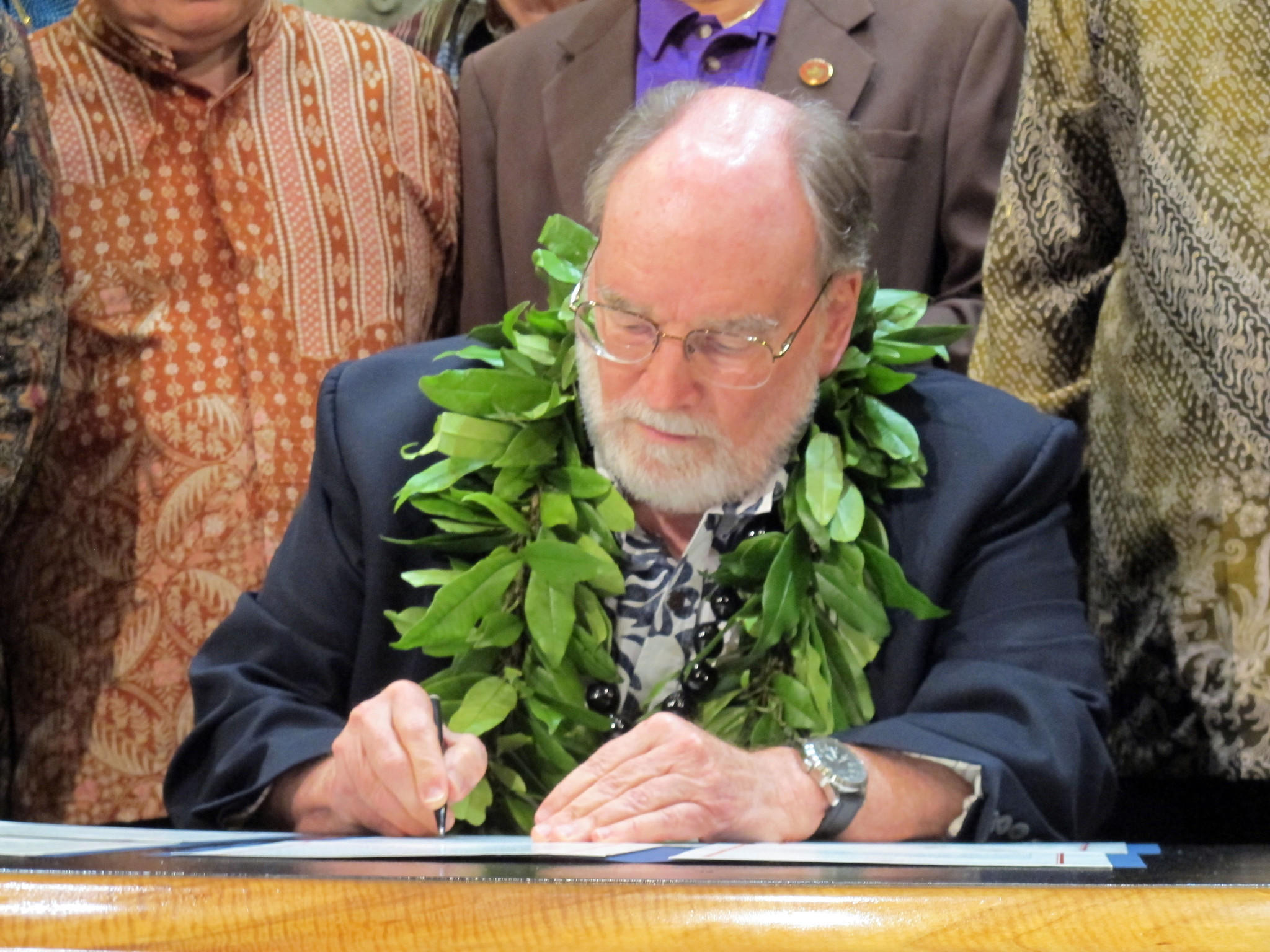 Hawaii Gov. Neil Abercrombie.