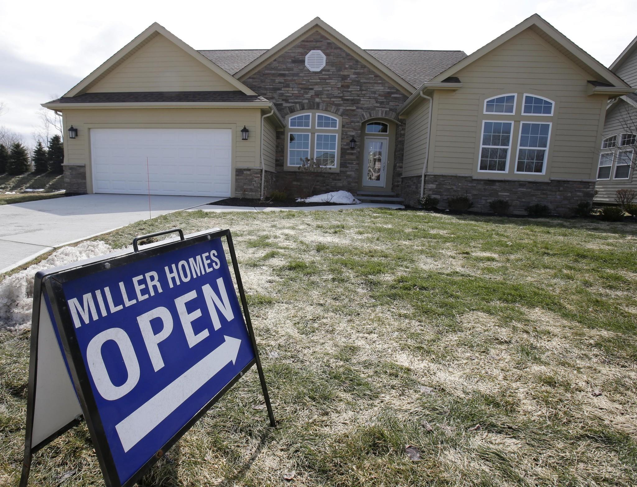 A new home for sale in Pepper Pike, Ohio.