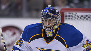 Video: Blues goalie 'looks like a first-round exit'