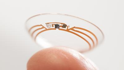 Google wants to fit an entire camera into a contact lens