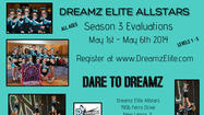 Competitive Cheer Try Outs - May 1st - 6th