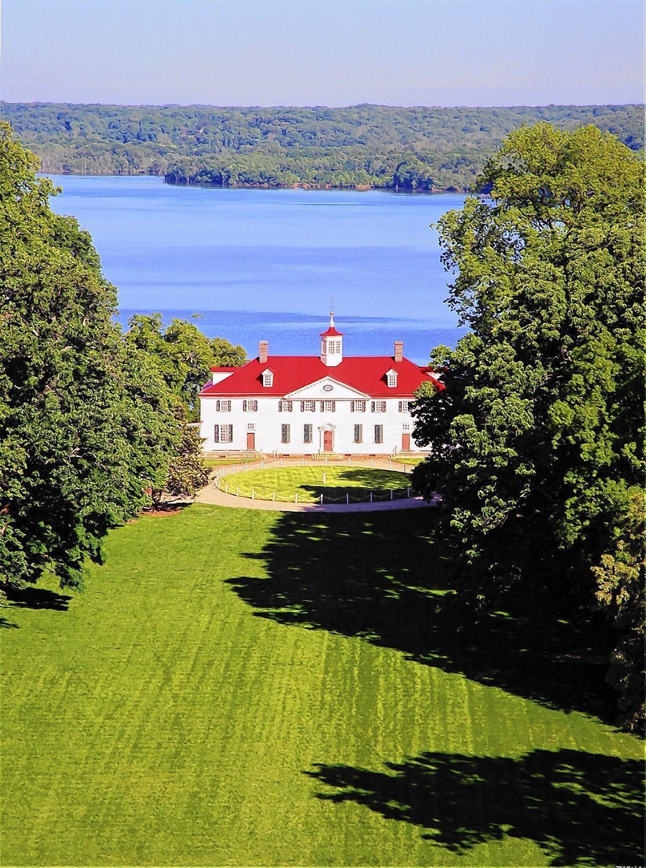 George Washington's Mount Vernon.