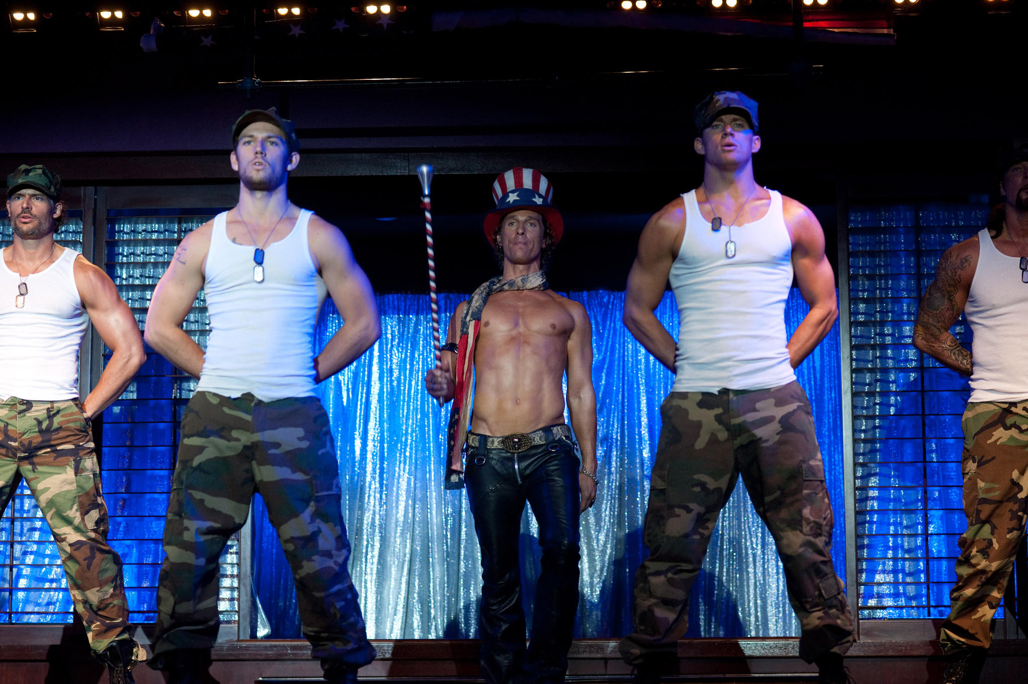 "Scene from ""Magic Mike."""