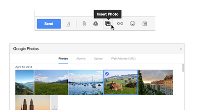 Gmail makes adding photos into messages quicker with new feature