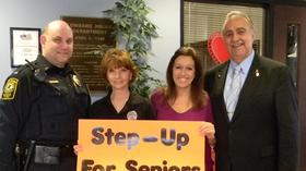 'Step-Up for Seniors' Food Drive