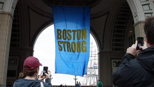 Boston Marathon bombing survivors, families at memorial ceremony