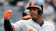 Orioles' Adam Jones, Evan Meek sent home with illness