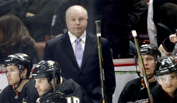 Ducks Coach Bruce Boudreau will lead his team against the Dallas Stars on Wednesday when the first-round of the NHL playoffs begin.