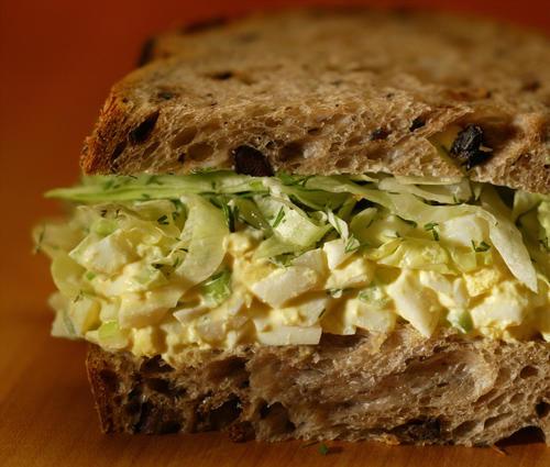 Egg salad sandwich. It's a classic.