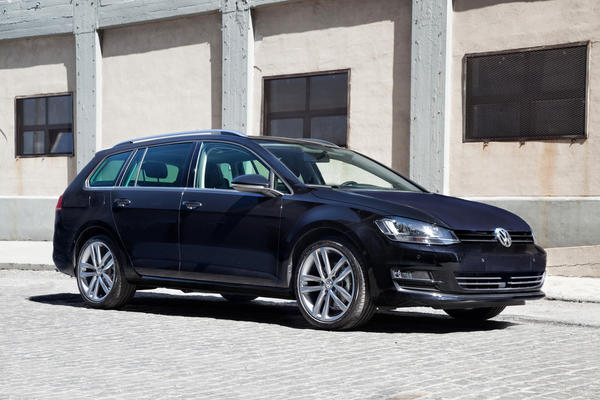 The all-new 2015 VW Golf Sportswagen debuts at the N.Y. Auto Show and will go on sale in early 2015.