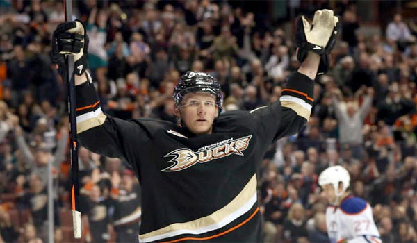 Corey Perry's 43 goals this season make him the NHL's second leading scorer, and a constant threat around the net.