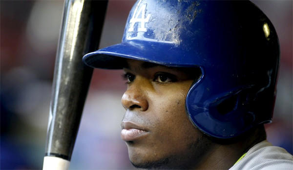 Yasiel Puig hasn't commented on a Los Angeles Magazine article that details the circumstances of his departure from Cuba. However, Manager Don Mattingly said the Dodgers outfielder is fine.