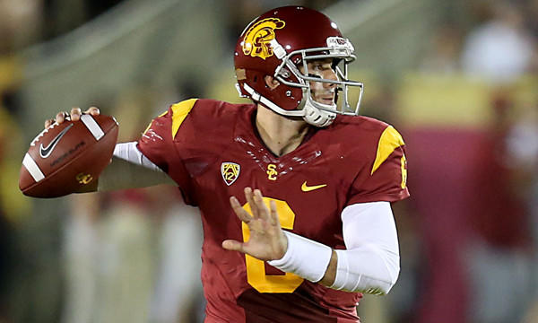 USC quarterback Cody Kessler throws a pass against Washington State in September. Kessler was named the Trojans' starting quarterback Tuesday.