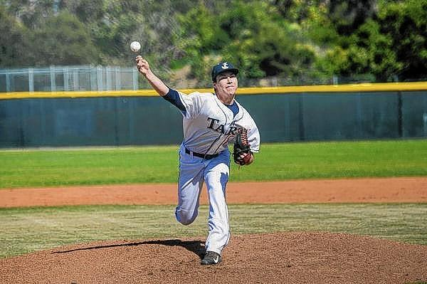 Newport Harbor High senior Shaun Vetrovec struck out 15, walked one and allowed four hits in his complete-game effort.