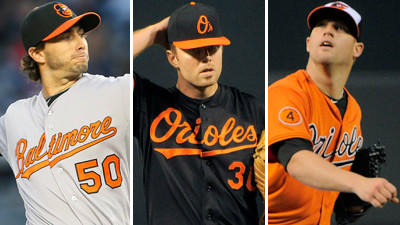 Sorting through the effects of Tuesday's rainout on the Orioles' starting rotation
