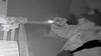 Burglar caught on camera creeping through nursey while baby sleeps