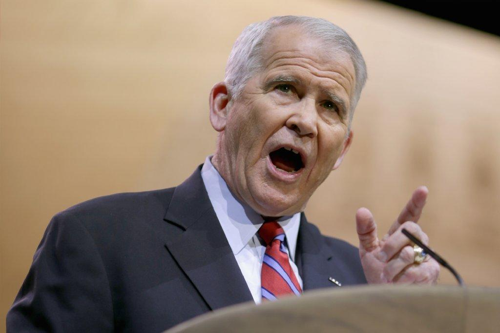 """Oliver North is helping on FX's """"The Americans."""""""