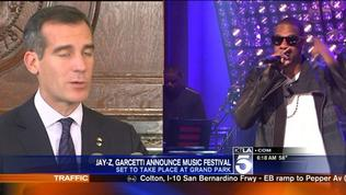 Jay Z, Mayor Eric Garcetti Expected to Announce L.A. Summer Music Festival