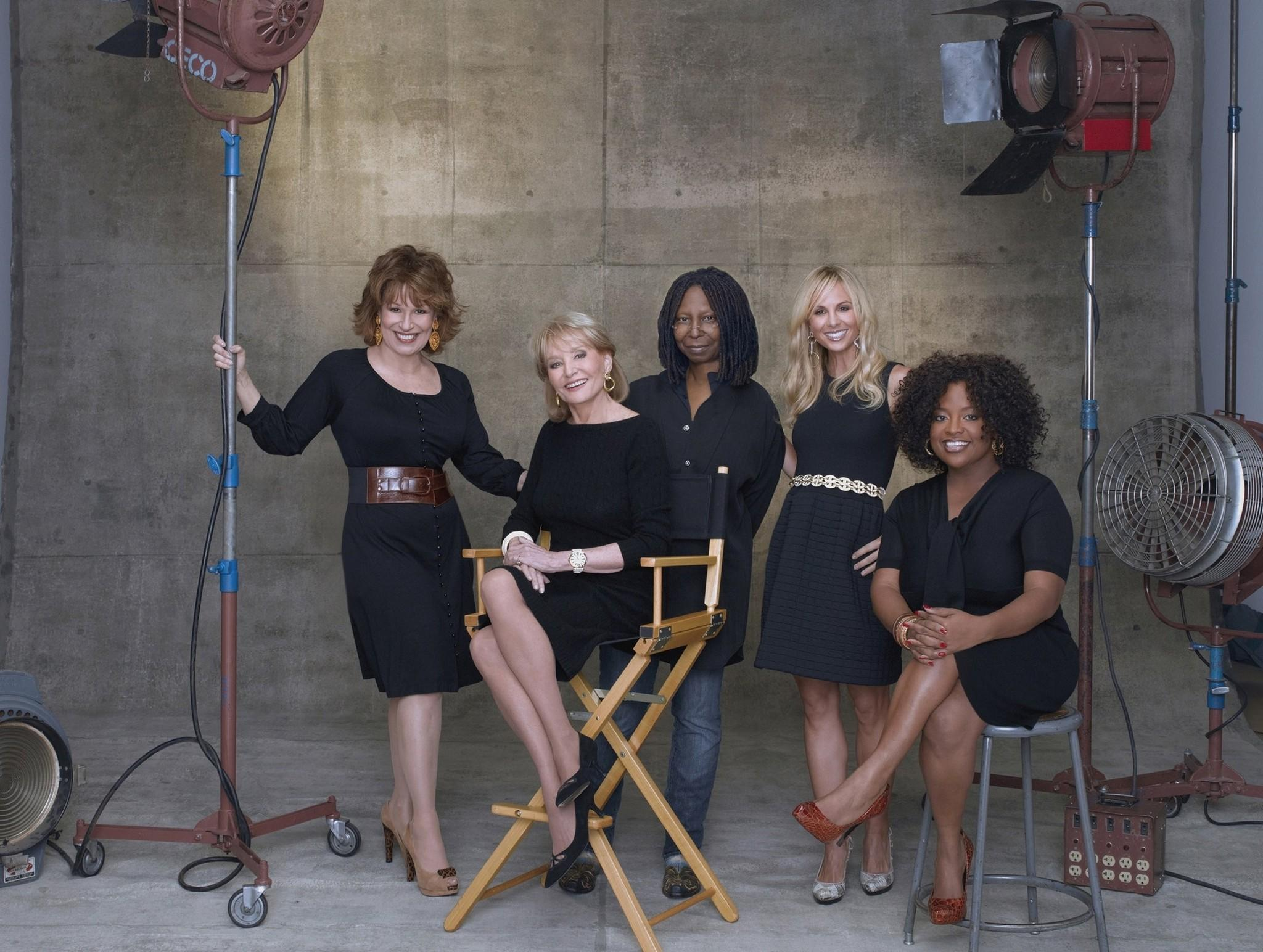 Barbara Walters, Whoopi Goldberg, Sherri Shepherd, Elisabeth Hasselbeck and Joy Behar from 'The View.'