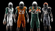 Nike unveils Miami Hurricanes new uniforms