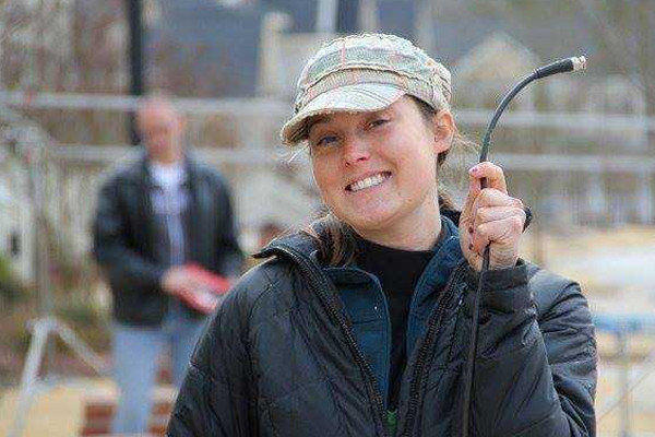 """Sarah Jones, who was struck and killed by a freight train Feb. 20 during the filming of """"Midnight Rider."""""""
