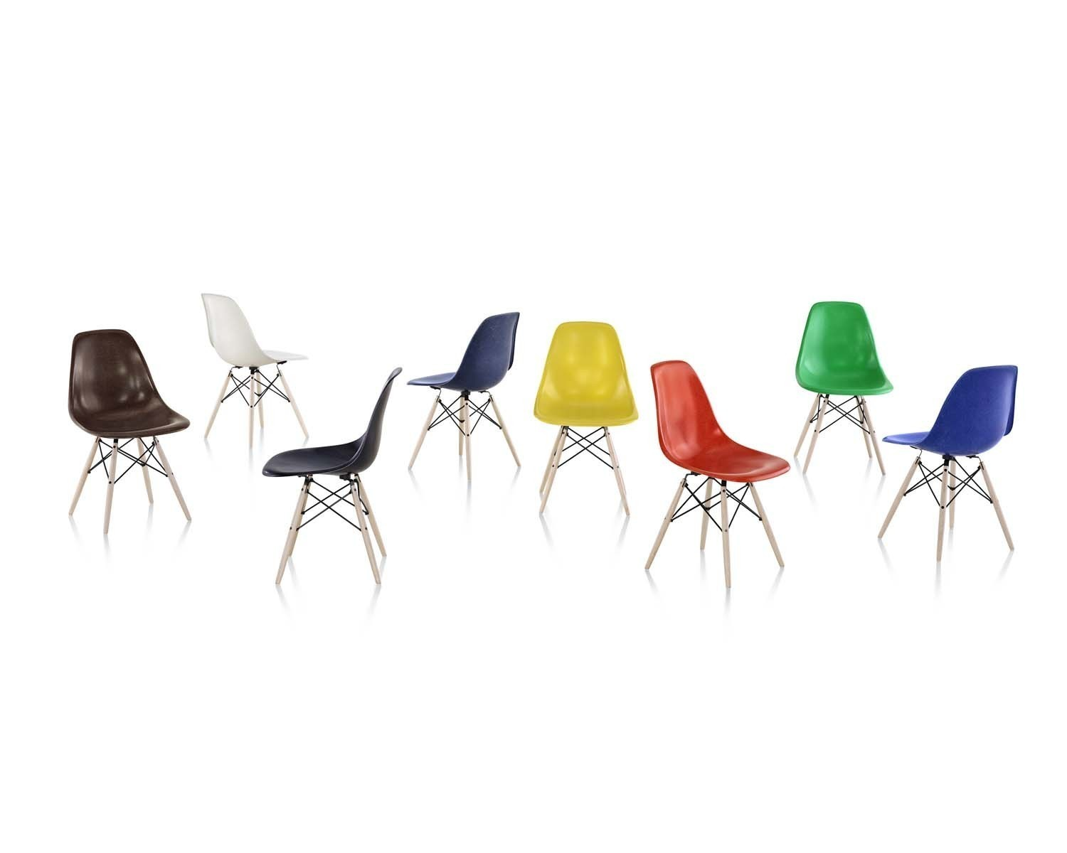 Herman Miller Brings Back Classic Eames Chair In Recyclable Fiberglass   LA  Times