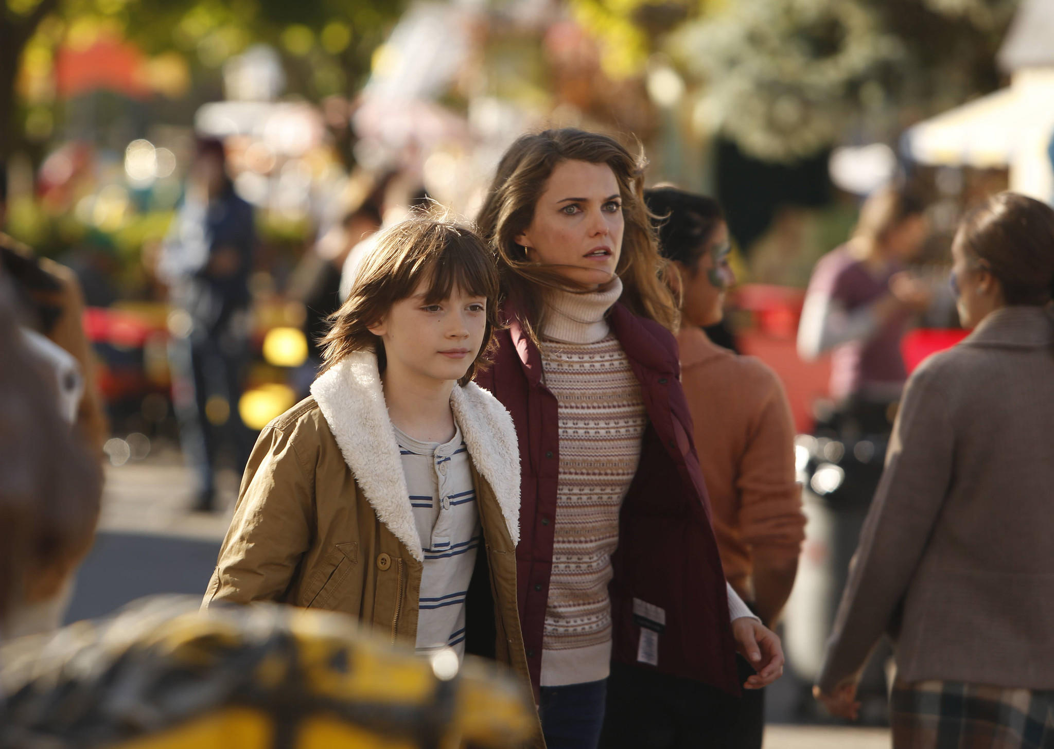 """The Americans,"" with Keidrich Sellati and Keri Russell, has been renewed for a third season."
