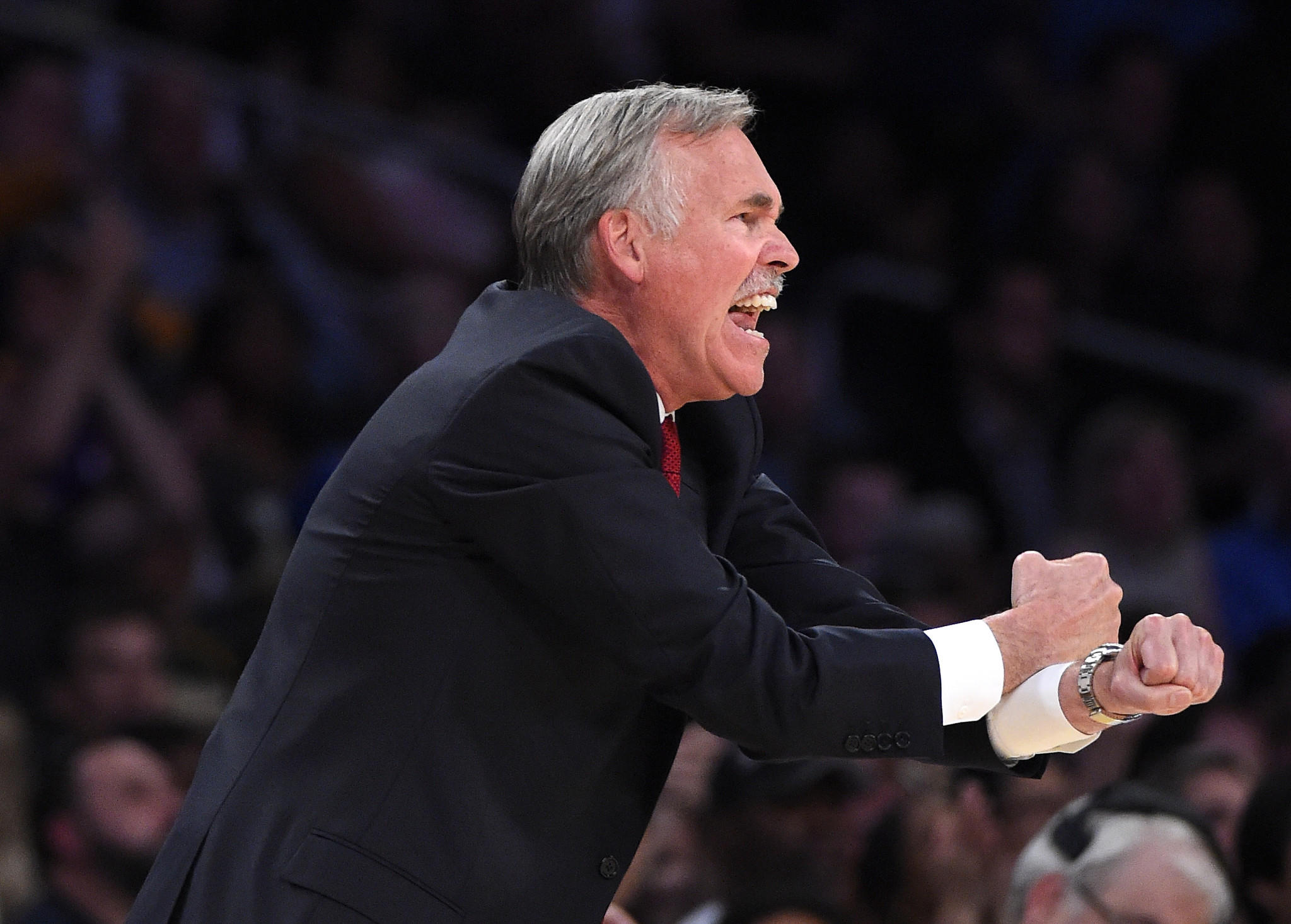 """Things had to go right and didn't,"" Lakers Coach Mike D'Antoni said about the season."