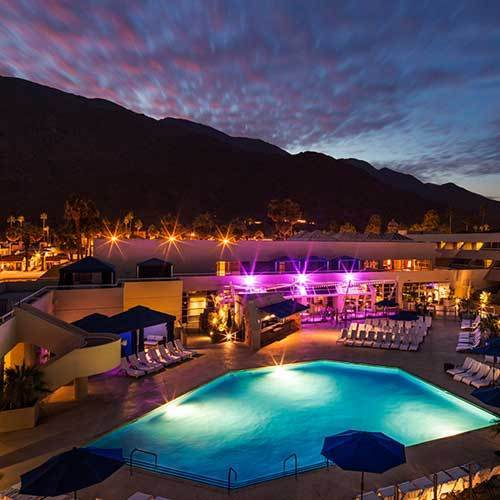 The Hard Rock Hotel Palm Springs is looking for online crowdfunding.