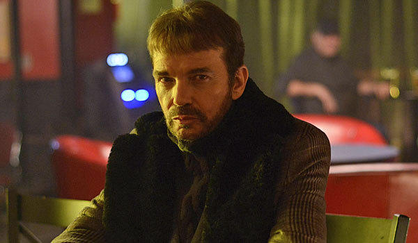 "Billy Bob Thornton plays Lorne Malvo in ""Fargo."""