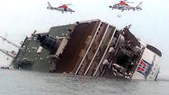 'I love you,' student texts mom from sinking South Korea ferry