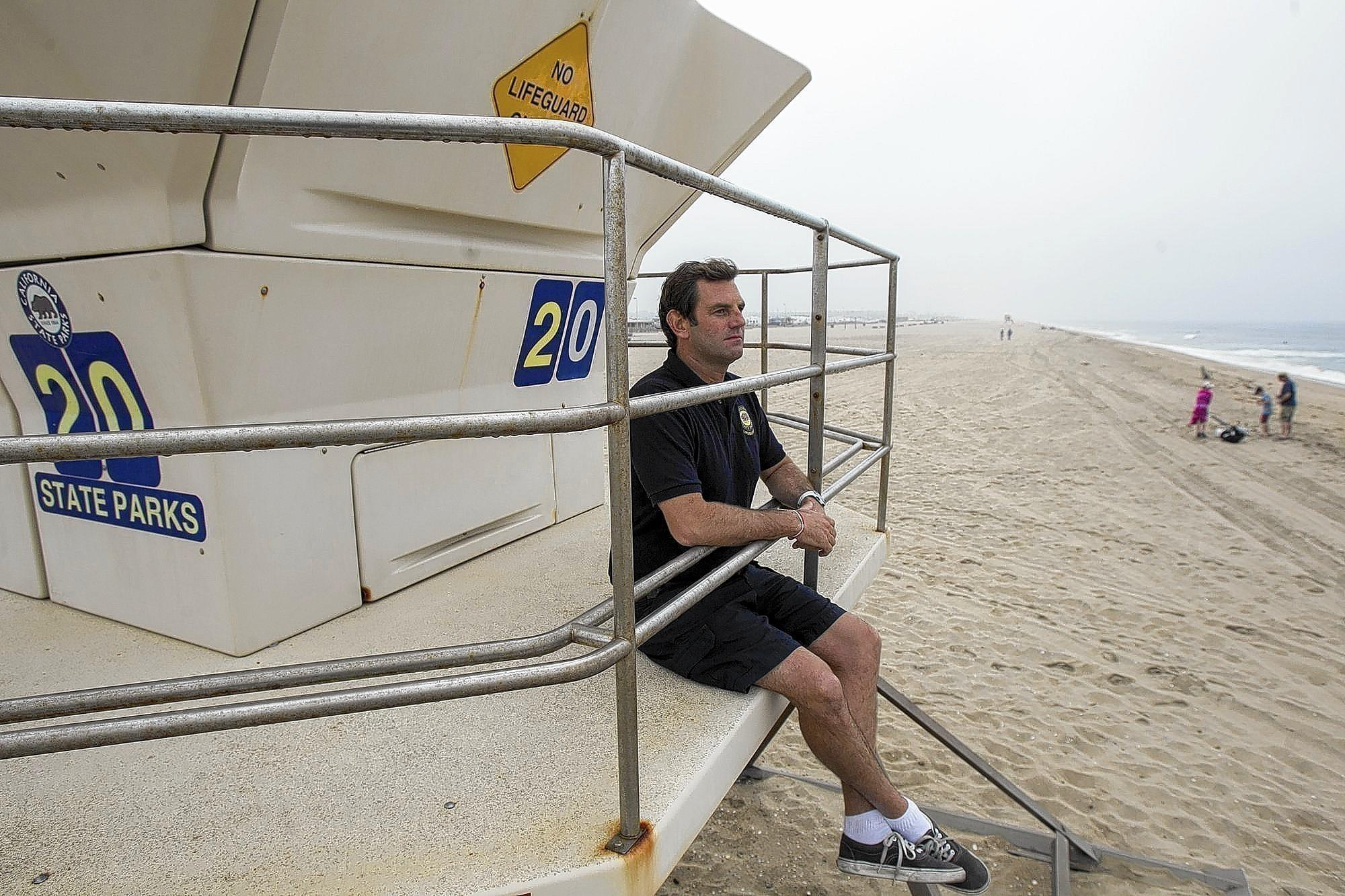 Chris Egan, junior lifeguard coordinator, will lead the new junior lifeguard program at Bolsa Chica State Beach this summer.