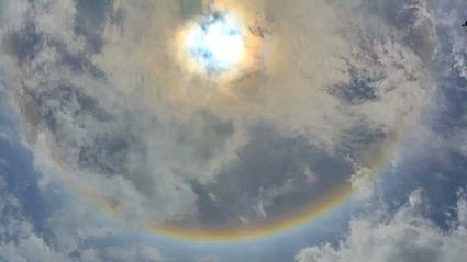 What's that ring around the sun? A halo?