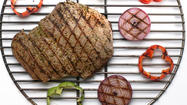 Recipe: Grilled flank steaks with chimichurri sauce