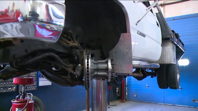 State Asked To Waive Sales Tax To Fix Rust On Trucks
