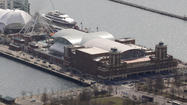 Man at Navy Pier construction office accidentally shoots himself