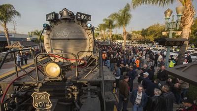 Big Boy steam engine to start journey to Wyoming on April 28