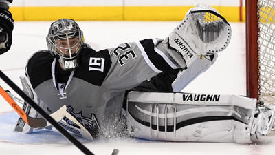 Kings feed off Jonathan Quick's confidence to gear up for playoffs