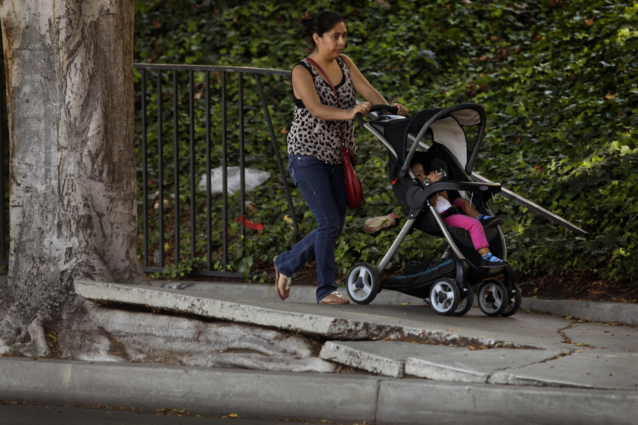 Next week, the City Council is expected to reconsider the sidewalk spending plan.