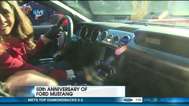 50th Anniversary of Ford Mustang