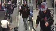 Police release video of attack on Skokie Swift train