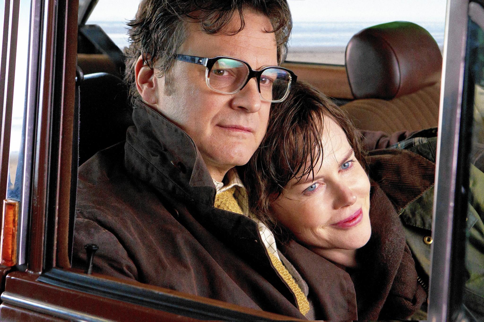"Colin Firth and Nicole Kidman in ""The Railway Man."""